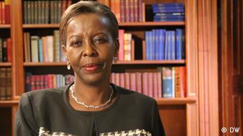 Deutschland Louise Mushikiwabo bei Conflict Zone in Berlin