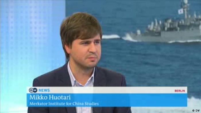 Mikko Huotari DW TV Screenshot