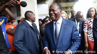 Pour le Président Ouattara, il s'agit de conserver la majorité à l'Assemblée nationale