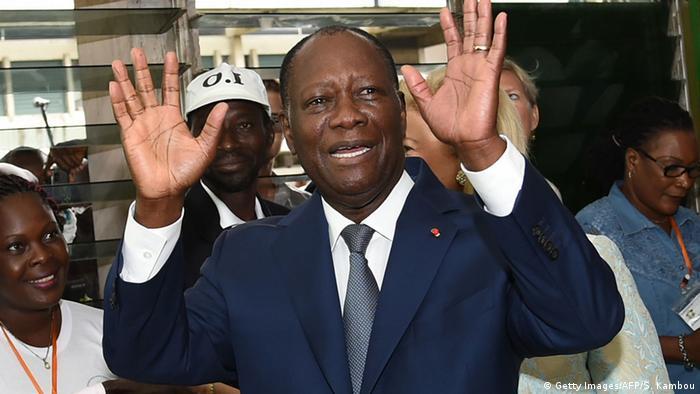 Elfenbeinküste Präsidentschaftswahl Alassane Ouattara