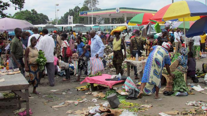 Market in Brazzaville Copyright: Getty Images/AFP