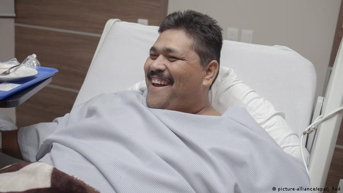 Mexiko Andres Moreno vor der OP Fettleibigkeit
