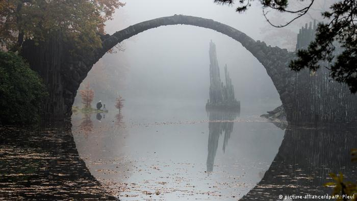 Rakotzbrücke en Alemania