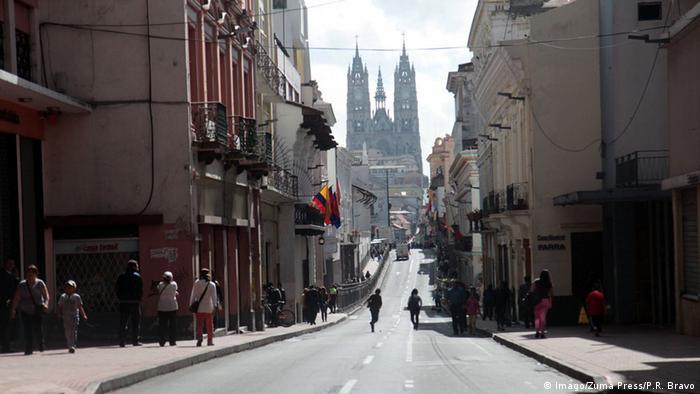 Ecuador Quito Stadtansicht (Imago/Zuma Press/P.R. Bravo)