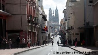 Ecuador Quito Stadtansicht