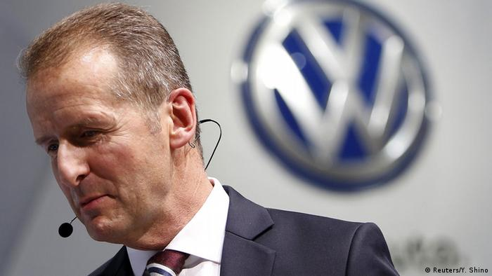 VW appoints Herbert Diess as CEO, creates new divisions