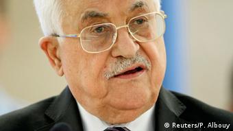 Schweiz Sondersitzung UN-Menschenrechtsrat Mahmud Abbas (Reuters/P. Albouy)
