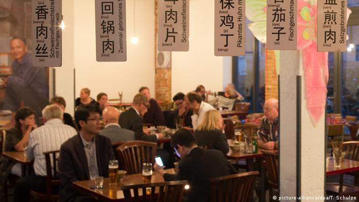 Das Restaurant Chinabrenner in der Giesserstrasse 18 im Leipziger Szene-Stadtteil Plagwitz