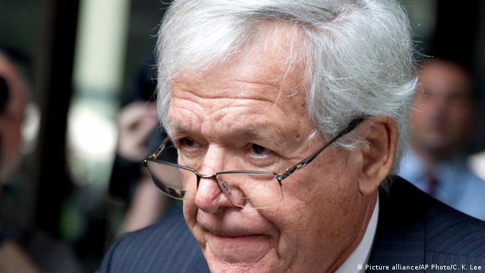 Dennis Hastert pleaded guilty to evading federal banking laws and lying to the FBI