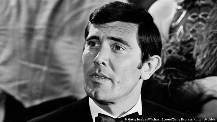 George Lazenby as James Bond (Getty Images/Michael Stroud/Daily Express/Hulton Archive)