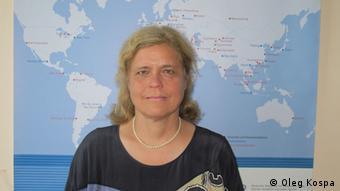 Ґізела Ціммерманн, керівниця Інформаційного центру DAAD у Києві