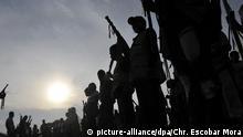 Farc Rebellen Guerilla Kolumbien Symbolbild Silhouette Sonne