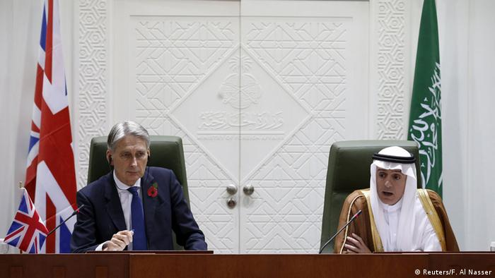 Saudi Arabien Adel al-Jubeir Besuch UK-Außenminister Philip Hammond
