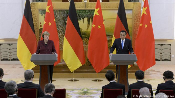 China Bundekanzlerin Merkel in Peking