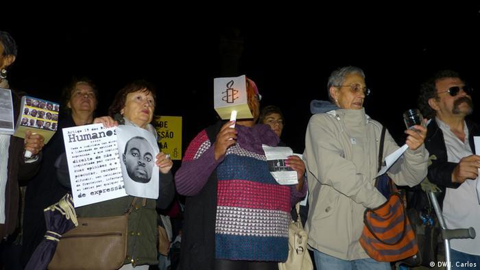 Vigília em Lisboa no dia 28 de outubro