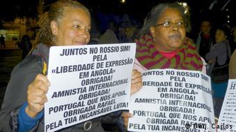 Petition von Amnesty International Portugal für die Freilassung von angolanische Aktivisten