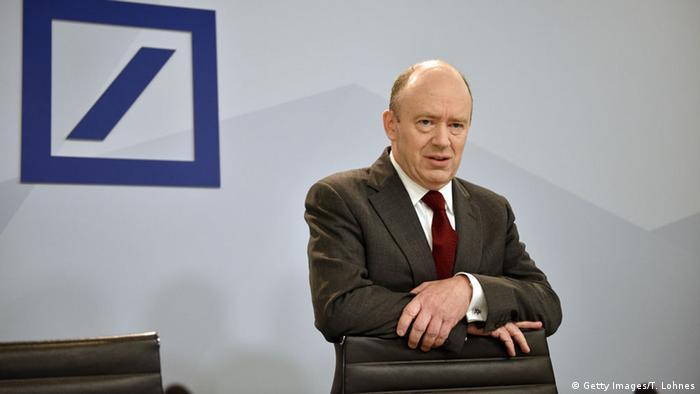 Deutschland PK Deutsche Bank John Cryan