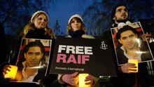 Raif Badawi Protest in London