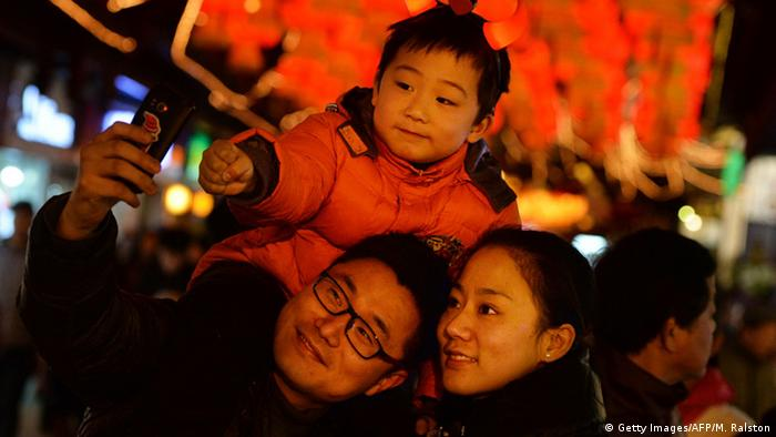 China Familie Ein Kind Politik (Getty Images/AFP/M. Ralston)
