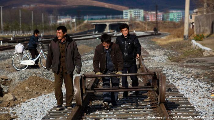 Symbolbild Nordkorea Sklavenarbeit