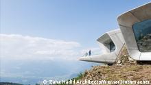 3. Thema: 65 Jahre Zaha Hadid Motiv: Messner Mountain Museum, Datum: 29.10.2015 Ort: Mount Kronplatz, Südtirol C: Zaha Hadid Architects, Foto: Werner Huthmacher