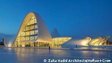 9. Thema: 65 Jahre Zaha Hadid Motiv: Heydar Aliyew Center, Baku Aserbaidschan Datum: 29.10.2015 Ort: Baku C: Zaha Hadid Architects, Foto: Hufton+Crow