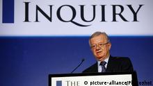 Sir John Chilcot Untersuchungsausschuss Irak The Iraq Inquiry