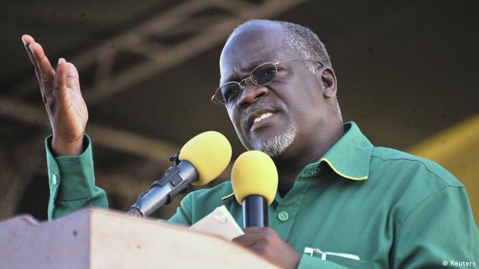 Tansania Wahlen John Magufuli