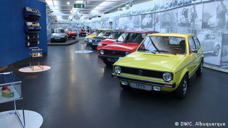 Bildergalerie VW-Museum Golf (DW/C. Albuquerque)