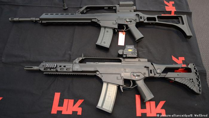 The G36 Heckler & Koch assault rifle has been used in several conflicts
