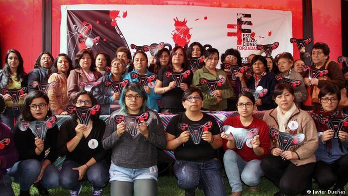 Peru Demus Kampagne Somos 2074 Frauenrechte