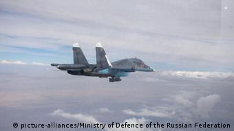 Russian Su-34 jet