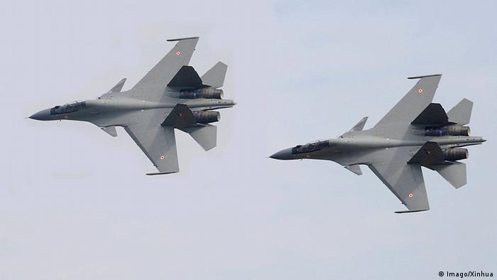 Российские истребители Су-30