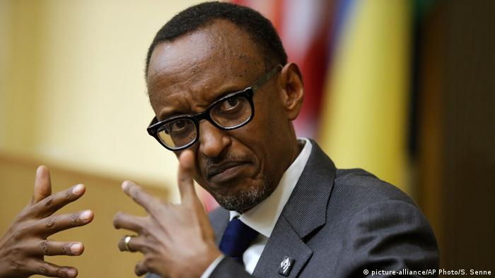 Ruanda Präsident Paul Kagame (picture-alliance/AP Photo/S. Senne)