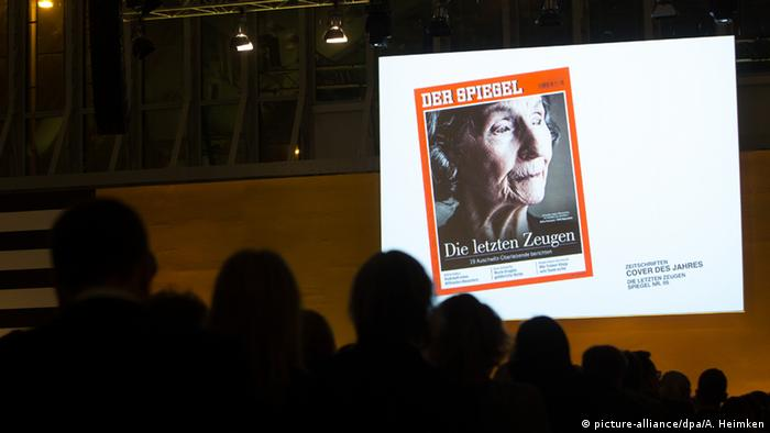 Lead Award 2015 Der Spiegel (picture-alliance/dpa/A. Heimken)