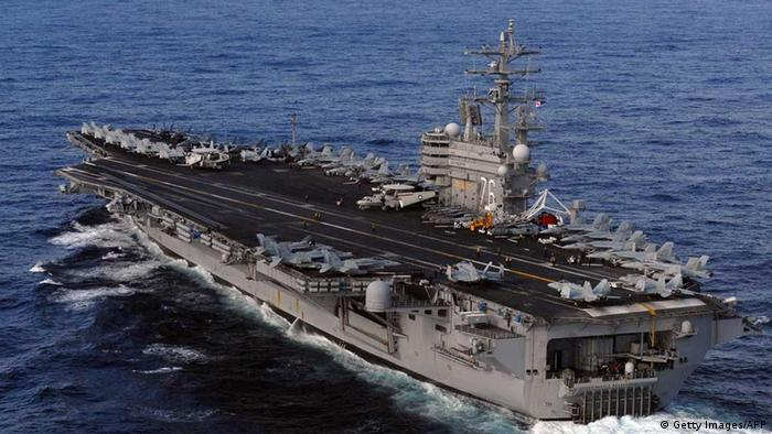 US-Flugzeugträger USS Ronald Reagan (Getty Images/AFP)