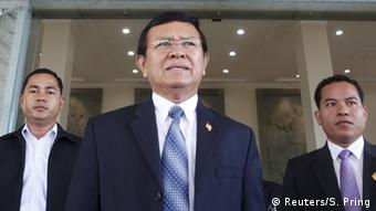 Cambodia - Kem Sokha (Reuters/S. Pring)