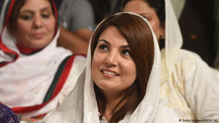 Reham Khan, Pakistani politician Imran Khan's ex wife (Getty Images/AFP/A. Ali)