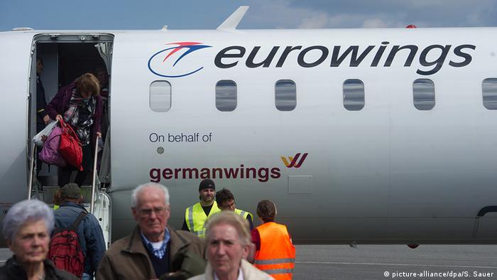 Пассажиры Eurowings