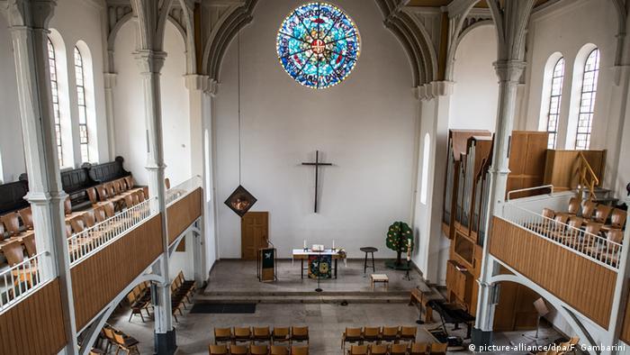 Deutschland Flüchtlinge Kirche in Oberhausen