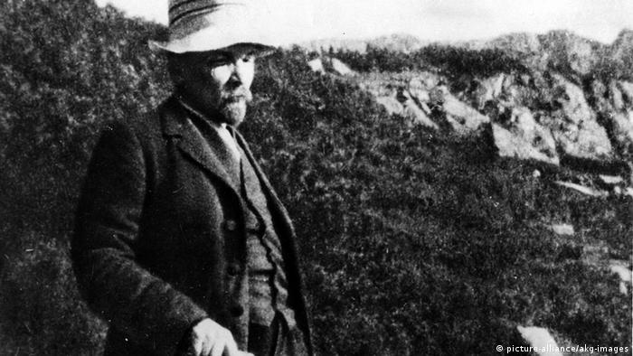 Ленин в горах. 1914 г.