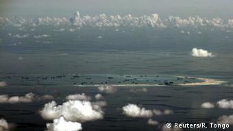 Luftaufnahme der Spratly-Insen im Südchinesischen Meer (Foto: Reuters)