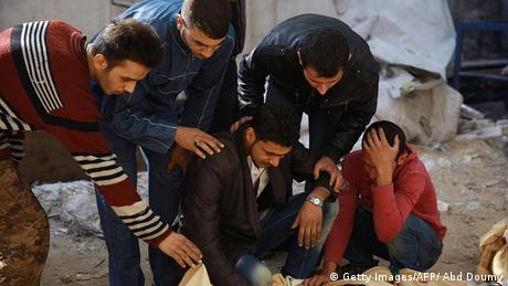 Syrien Luftangriff bei Damaskus