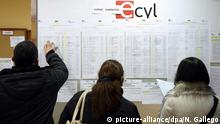 Symbolbild zur Arbeitslosenrate in Euro-Raum Spanien Agentur für Arbeit