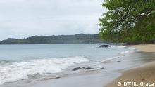 Bild: Strand auf Príncipe Datum: 29.10.2015 Ort: São Tomé und Príncipe Autor: DW/Ramusel Graça (Korrespondent)
