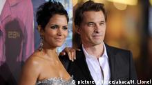 US Schauspieler Halle Berry and Olivier Martinez