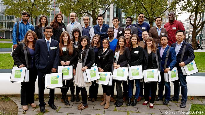 Deutschland Green Talents 2015 Gruppenbild