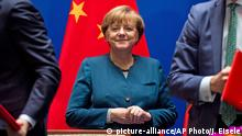 China Bundeskanzlerin Angela Merkel in Hefei