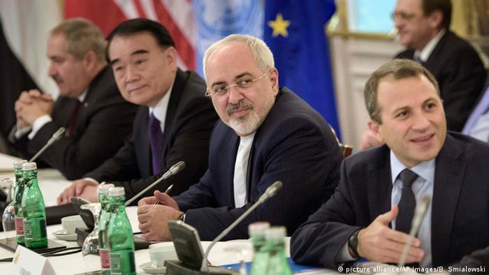 Syrien-Konferenz in Wien Mohammed Dschawad Sarif iranischer Außenminister