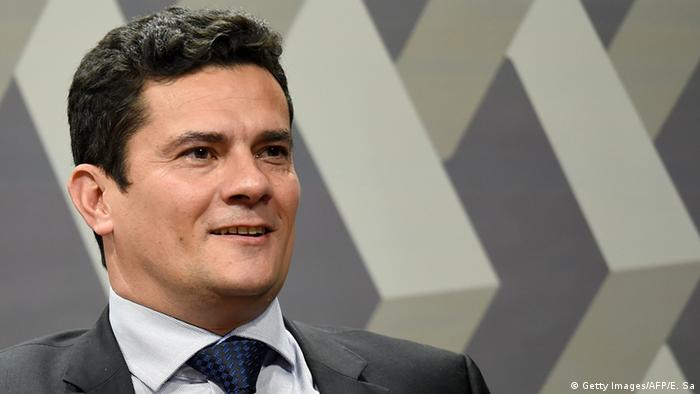 Brasilien Richter Sergio Moro (Getty Images/AFP/E. Sa)